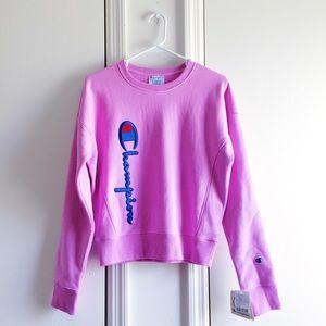 Champion UO Side Logo Crew Neck Sweatshirt